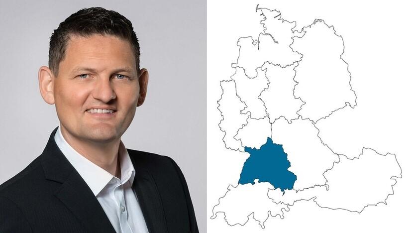 contact person, sales, profile and map, Steffen Heigold, Rockfon, DE